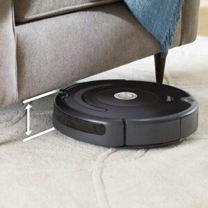 Irobot roomba 614 cleaning rug 1