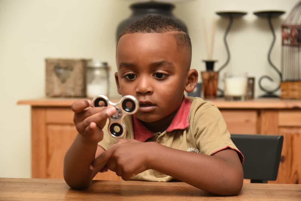 Boy With Spinner