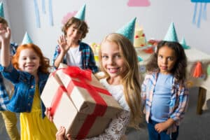 8 Year Old Girls With Gifts