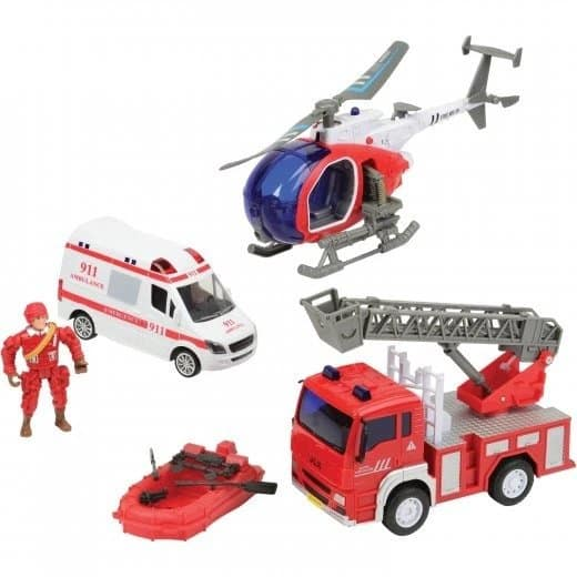 Fire Special Ops and Rescue Set
